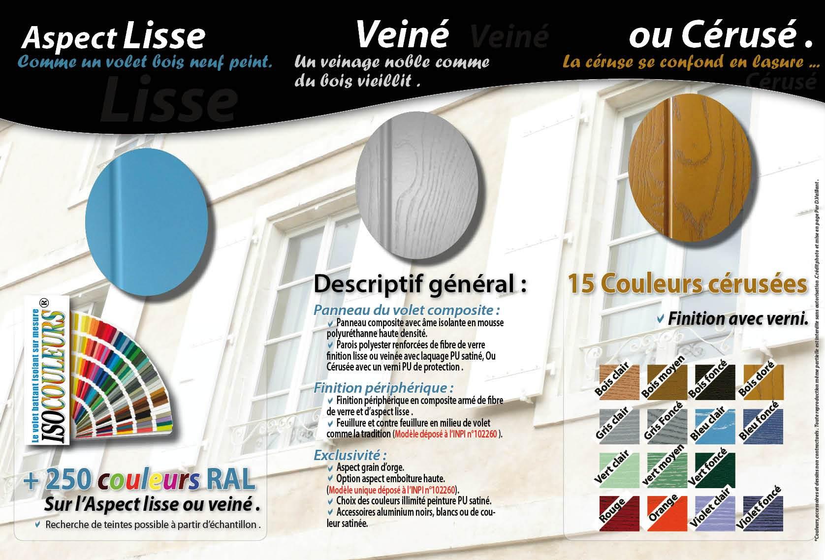 Volet Couleur Cuisine Volet Roulant Pour Meuble De Cuisine Avec  ~ Idee Couleur Peinture Volet Bois